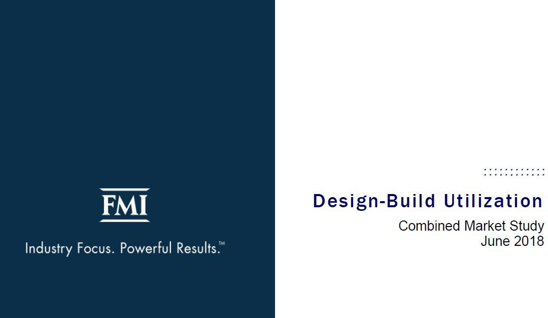 Design-Build Utilization – Combined Market Study